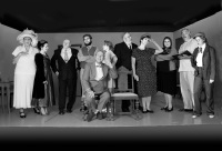 """The cast of """"Harvey"""", by Mary Chase"""